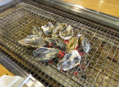能登半島の牡蠣